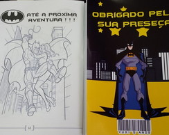Revistinha para colorir - Batman