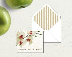 Mini Card Orquídea
