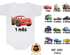 Body Mesversario Carros Kit 12