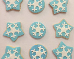 biscoitos decorados Frozen