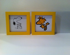 Quadro Decorativo Snoopy