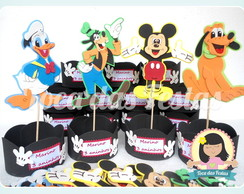 Centro de mesa Turma do Mickey