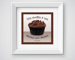 "Poster 15x15cm ""Muffin"""