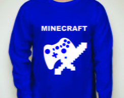 Camiseta de manga longa do Minecraft