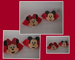 Porta Guardanapo Minnie e Mickey