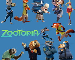 Kit Digital PNG - Zootopia