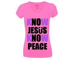Long Look Know Jesus Know Peace