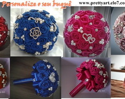 Buque de rosas e broches