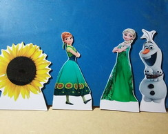 Display Frozen Fever , Cenário de mesa