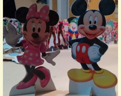 Display de mesa Minnie e Mickey