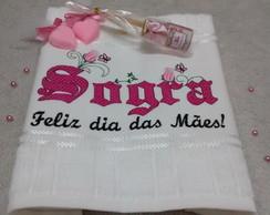 Kit Toalha Dia Das Mães Sogra No Elo7 Arte E Encanto Bordados