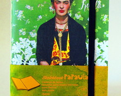 Caderno Frida capa Vogue