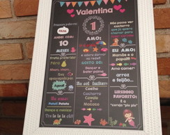 Chalkboard - Tema Fundo do Mar