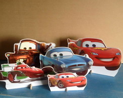 Display de mesa: Tema Carros