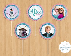 Frozen - Tags/Toppers