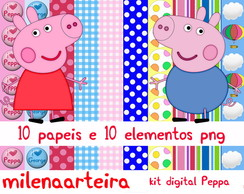 kit digital peppa pig