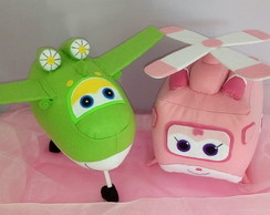 SUPER WINGS - MIRA e DIZZY