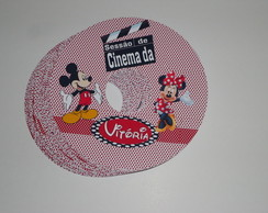 Rótulo CD\DVD MICKEY E MINNIE
