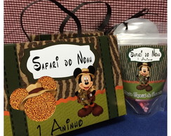 caixa surpresa Mickey Safari