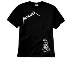 Camiseta de Rock Metallica