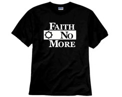 Camiseta de Rock Faith No More