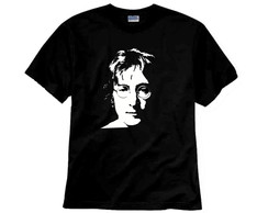 Camiseta de Rock Lennon Face