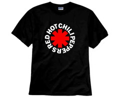 Camiseta de Rock Red Hot Chili Peppers
