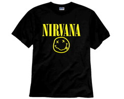 Camiseta de Rock Nirvana Logo