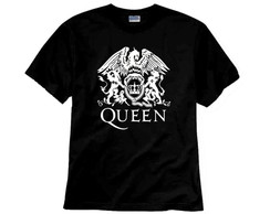 Camiseta de Rock Queen