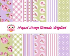 papel digital shaby chic 17-6