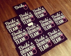 Camiseta Bride's Drinking Team
