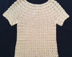 Mini Blusa Croche  d414d780ae324