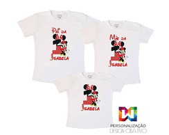 kit Familia camisas minnie