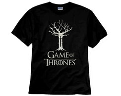 Camiseta de Série Game Of Thrones Three