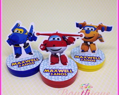 Latinha 3d Super Wings
