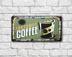 "Placa Decorativa ""Placa Coffee"""