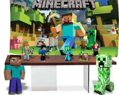 Kit festa completa do minecraft