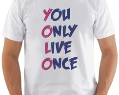 Camiseta Drake You only live once