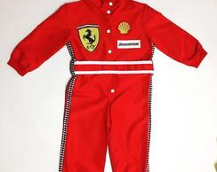 3aa7f664ff Macacão de Formula 1 Infantil