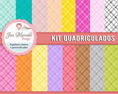 Kit Digital Quadriculados