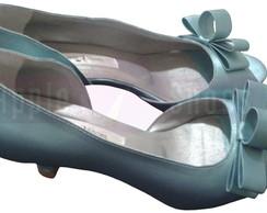 678cc99498 Sapato de Noiva Azul no Elo7