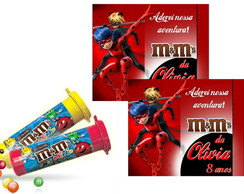 Rótulo M&M Miraculous