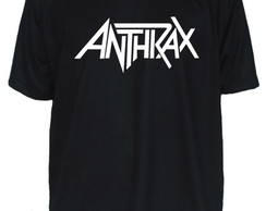Camiseta Anthrax Banda de Rock