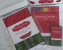 Kit de Colorir Melancia