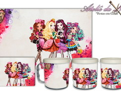 Jogo Americano-c/caneca Ever After High