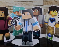 display de minecraft