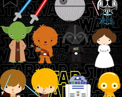 Kit Digital PNG - Star Wars