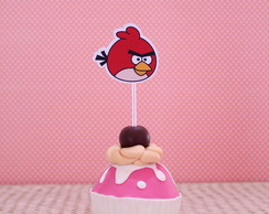 Topper para doces- Angry birds
