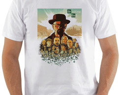 Camiseta Breaking Bad #2 Personagens