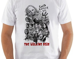 Camiseta Walking Dead #2 god forgive us